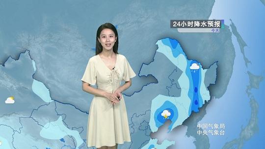 东北局地雨势猛烈 全国高温天气范围广