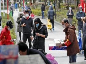 湖北武汉:社区商家齐心保障市民...