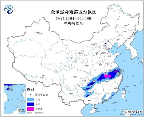 暴雨蓝色预警!贵州重庆广西等多省区迎大到暴雨
