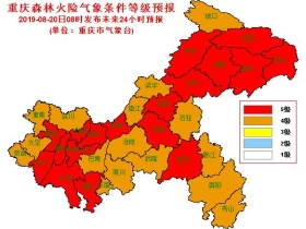 """重庆酷暑仍将""""在线"""" 高温森林火险预警齐发"""