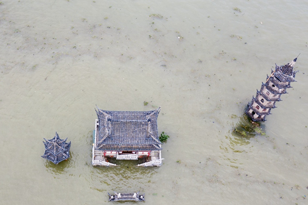 长江流域汛情地图 太湖等地雨势加强