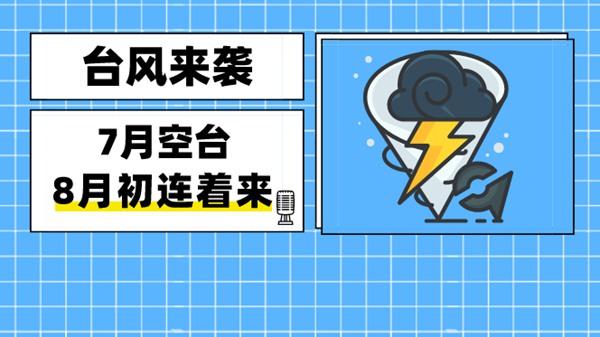 """台风""""黑格比""""""""森拉克""""接连来袭"""