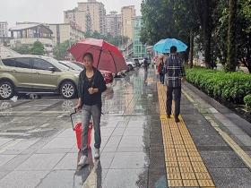 重庆今后三天雨水频繁局地有大雨 体感阴冷出行需保暖