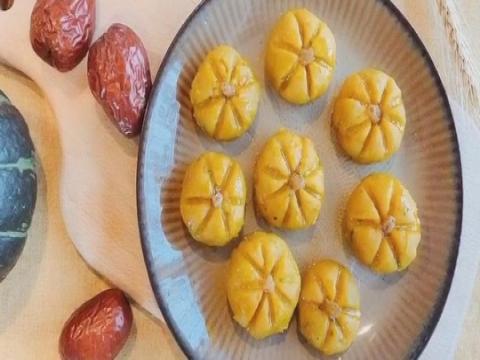 软甜香糯南瓜饼 去秋燥的高颜美食就靠它