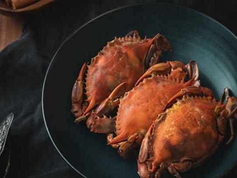 中秋吃蟹不如寒露吃蟹