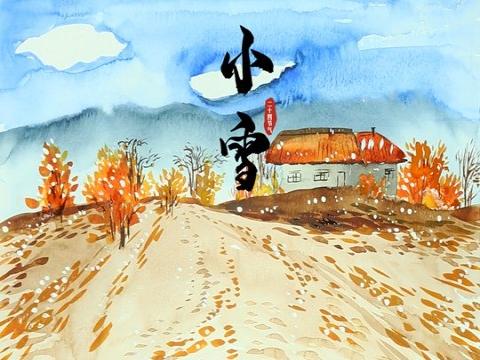 小雪:花雪随风不厌看 一片飞来一片寒